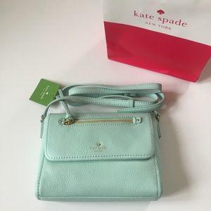 Kate Spade NWT & Bag Mini Toddy Grace Blue Purse